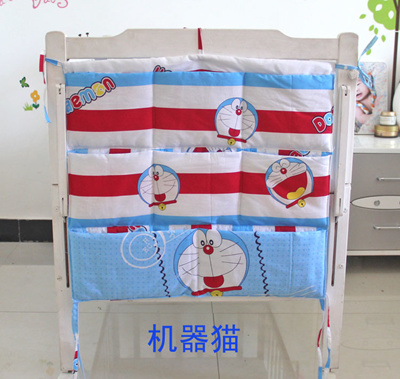 846b3d25b70b Clearance shipping pouch diaper bag Crib Bag storage bags hang the bag  multilayer multifunctional be