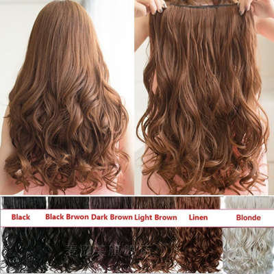 Qoo10 - Clip in Hair Extensions Hair Color Hair Accessories Curly ...