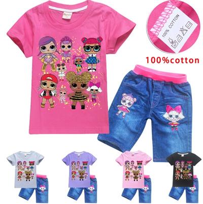 c10f57fd1d0d Qoo10 - Clothing Cotton! Surprise doll lol surprise dolls children ...
