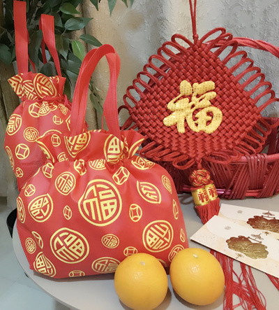 Qoo10 - CNY / Chinese New Year Gift Wrapping / Goodies Bag / Carrier ...