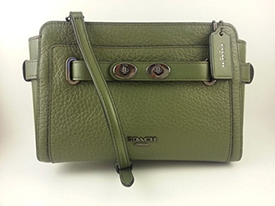 retail prices perfect quality top-rated original Coach Belt Leather Blake Crossbody
