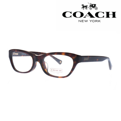 Qoo10 - [Best items] Coach Glasses Frame HC6045F-5120[53]/leopard ...