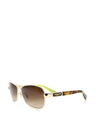 6e5ba7a5ff40 Qoo10 - (Coach) Coach HC7012 L038 Caroline Sunglasses 910013 Gold/Tortoise  Bro... : Perfume & Luxury.