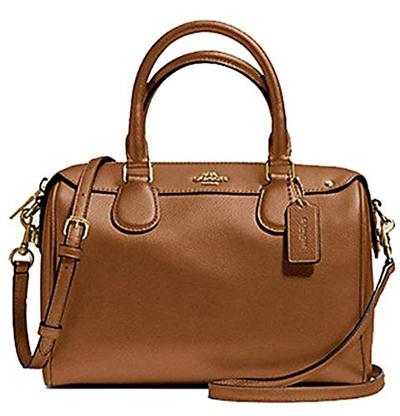 aceacd00163 Qoo10 - (Coach) Coach Leather Mini Bennett Shoulder Bag Handbag-F36624   Bag    Wallet