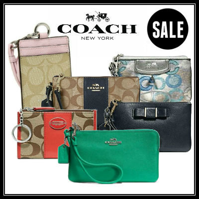 COACH READY STOCK IN SG! Brand New Authentic Coach Bags wristlets lanyards  accessories. GREAT