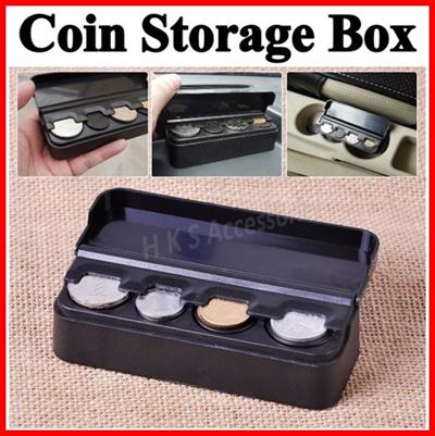 Coin Storage Box Holder Organizer ★ Car Taxi Grab Organizer  Container【Cheapest】