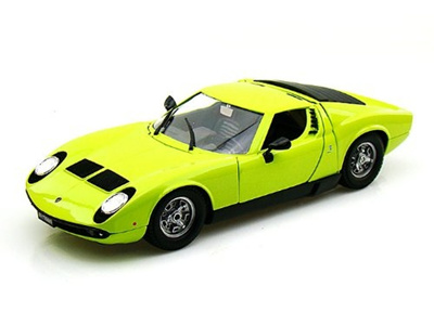 Qoo10 Collectable Diecast 1968 Lamborghini Miura 1 18 Green Toys