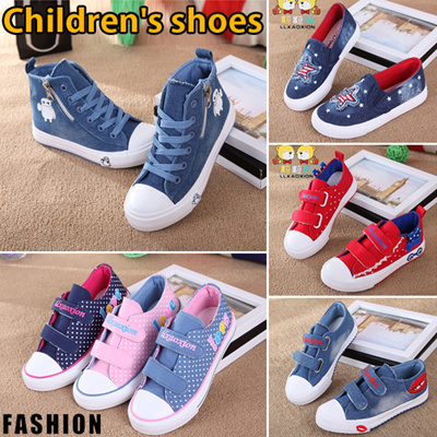 sale retailer new arrival how to find Color life2019 Children Casual Shoes / Girls Boys Canvas Shoes / Kids Flat  shoes / Sneakers / Running shoes