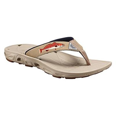 1d44e905558 Qoo10 - Columbia Footwear BM4455 Mens Techsun Vent Fish Flip-Flops Sandal,  Bri...   Men s Bags   Sho.