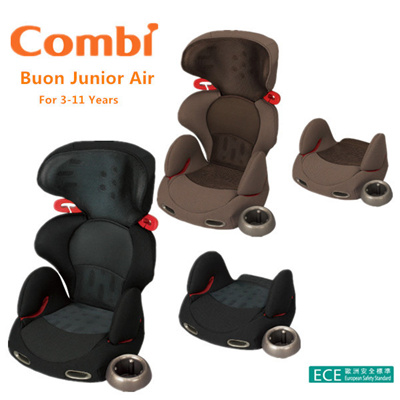 qoo10 combi buon junior air car seat booster seat for 3 11 years old ece pa baby maternity. Black Bedroom Furniture Sets. Home Design Ideas