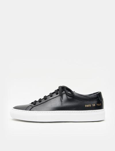 564953f6601e Qoo10 - COMMON PROJECTS Original Achilles Low White Sole - Black (Women) :  Shoes