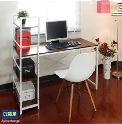 Computer Desk Bookshelf Combination Office Modern Minimalist