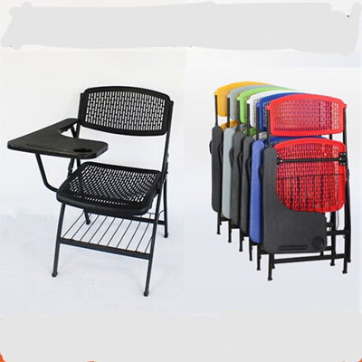Conference Chair Office Furniture folding chairs plastic+steel chairs  foldable office chair