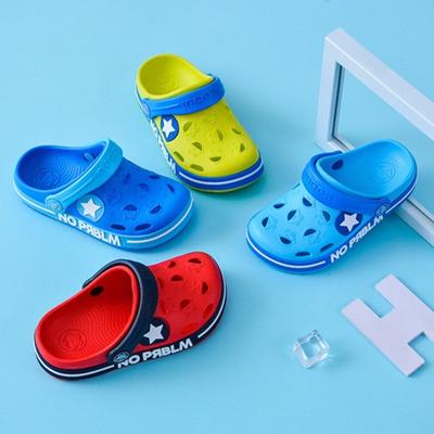 7417c13f146f Cool fun 2019 children new hole hole shoes cartoon slippers antiskid beach  boys summer sandals