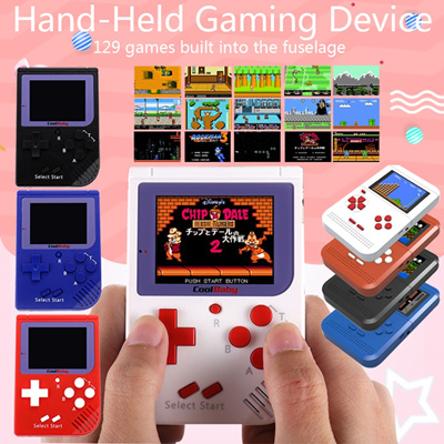 Coolbaby RS-6 Portable Retro Mini Handheld Game Console 8 bit 2 0 inch LCD  Colour Children Game Play