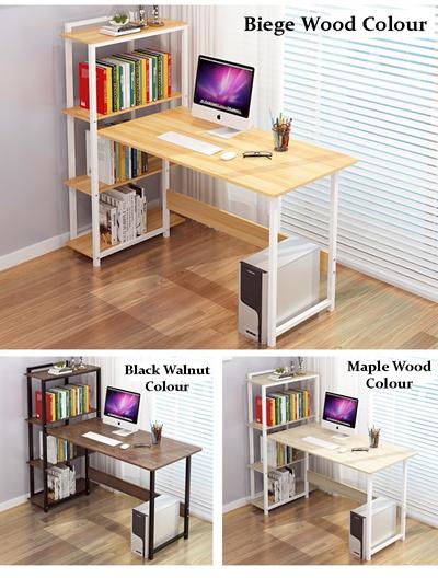 Fine Coolbe Computer Study Table Desk With Shelves Office Desk Download Free Architecture Designs Estepponolmadebymaigaardcom