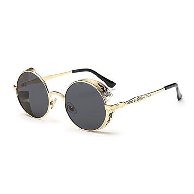 57a950a69aec Qoo10 - Coolsunny Vintage Hippie Retro Metal Round Circle Frame Sunglasses  CS1...   Fashion Accessor.
