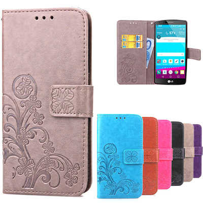 online store c1d26 d9c86 coque lg g4 lgg4 leather wallet flip case printing back cover lg g4 h815  h818 cell phone silicon