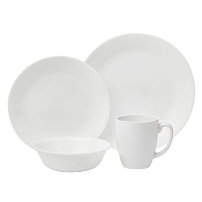 Corelle Livingware 16-Piece Dinnerware Set Winter Frost White Service for 4  sc 1 st  Qoo10 & Qoo10 - Corelle Livingware 16-Piece Dinnerware Set Winter Frost ...