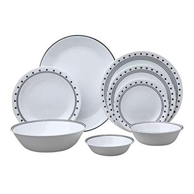 Corelle Livingware 76-Piece Dinnerware Set  sc 1 st  Qoo10 & Qoo10 - Corelle Livingware 76-Piece Dinnerware Set : Kitchen u0026 Dining