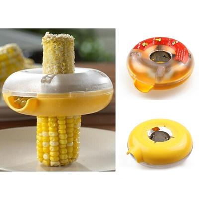 Corn Kerneler Kitchen Tool Donut Shaped One Step Peeler Remover