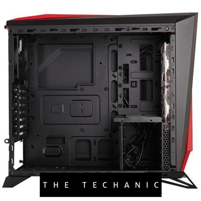 online store a339d 3ede4 CORSAIR CARBIDE SERIES SPEC-ALPHA MID-TOWER GAMING CASE - WHITE/RED