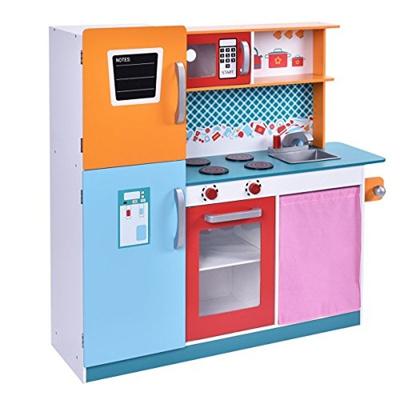 Qoo10 Costzon Costzonwood Kitchen Toy Kids Cooking Pretend Play Set Toddle Toys