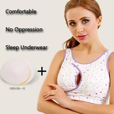064d621f07 Qoo10 - Cotton Breast Sports Maternity Nursing Bra Bras For Pregnancy Push  Up ...   Baby   Maternity
