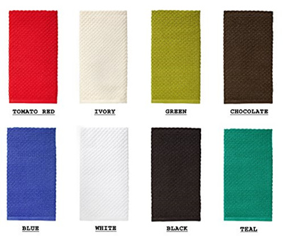 Qoo10 Cotton Craft 4 Pack Euro Cafe Waffle Weave Terry Kitchen