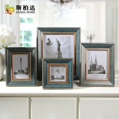 Qoo10 Country Style Square 4 Inch 6 7 Inch 10 Inch Wooden Photo