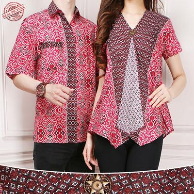 reputable site 2f35b 6e7fe Couple Batik Daeyu Blouse Kartini Tops and Men's Batik Shirts