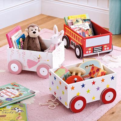 coupon friendly[Agoramart] Wooden Toy Storage Box Table Organizer