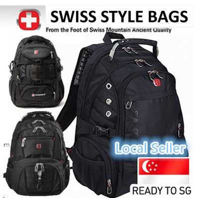 afb1930dc8e4 ( FAST DELIVERY ) SWISS LAPTOP LADIES BAG NOTEBOOK BAG BACKPACK OFFICE BAG  MENS BAG NOT