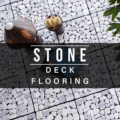 coupon friendlyStone Deck Tile balcony toilet Bathroom puzzle floormat  floor tile carpet furniture DIY mat reform