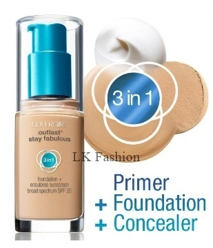 covergirl★ Covergirl ★ Outlast Stay Fabulous 3-In-1 Foundation ★ Authentic  from USA ★ Ready Stock In SG