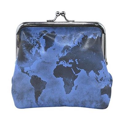 Qoo10 Cowets Ethel Ernest Dark Blue World Map Coin Wallets Mini