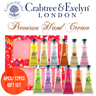 Best Gift Ideal ❤ Crabtree and Evelyn 6-pc and 12