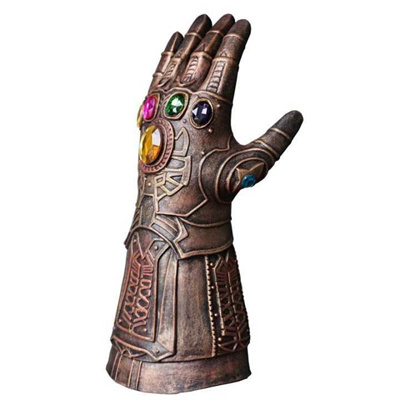 Craft The Avengers Infinity War Cosplay Thanos Mask Infinity Gauntlet  Thanos Gloves Latex