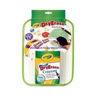 qoo10 crayola crayola dry erase board set stationery supplies