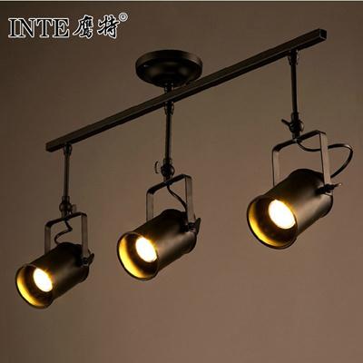 Creative Bar Track Lighting Modern Clothing Exposed Wind On Living Room Walls Retro