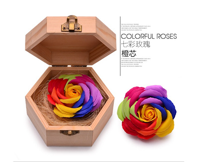 Creative Gifts Practical Birthday To Send Girlfriend Girl Diy Soap Flower Korean No