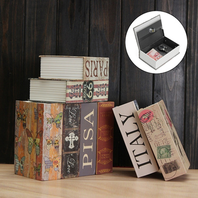 Creative Security Dictionary Cash Jewelry Hidden Hiding Book Safe Storage  Key Lock Box