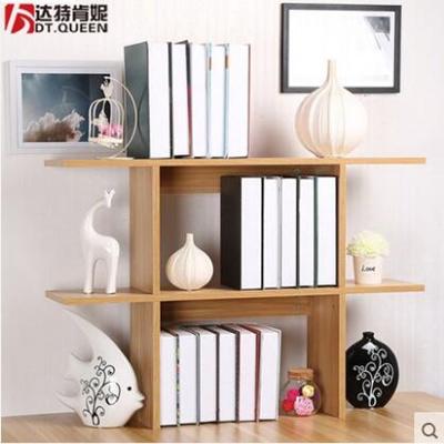 Creative Small Bookshelf Table Simple Shelves Student Desk Bedroom Dormitory