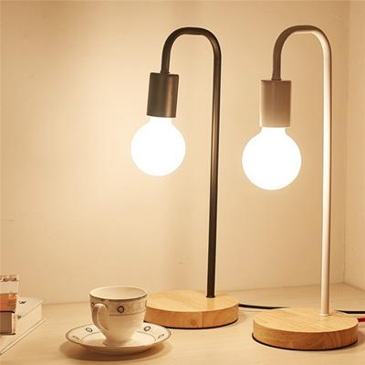 Creative Small Desk Lamp Led Comfortable Living Room Children Bedroom Bedside Nordic Simpl