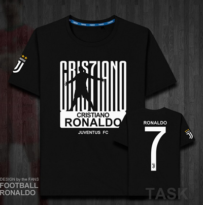 the latest 7d849 81d85 Cristino Ronaldo 7 Juventus FC tee tshirt for kids and adults