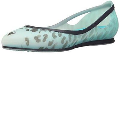ec8ebee3b589 Qoo10 - (crocs)/Women s/Flats/DIRECT FROM USA/crocs Women s Rio Leopard Fade  W... : Shoes