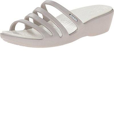 521f0826516 Qoo10 - (crocs) Women s Sandals DIRECT FROM USA Crocs Rhonda Wedge Pump    Shoes