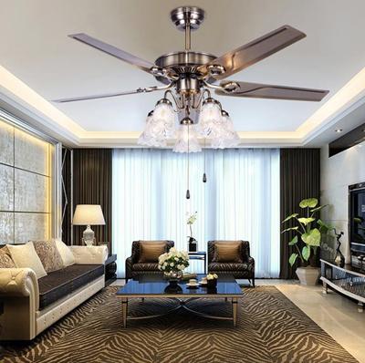 Qoo10 Led Restaurant Simple Modern Bedroom Lamp Ceiling Fan Light