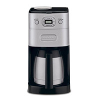 Cuisinart DGB-650KR Automatic All-in-One Coffee Maker Grind Brew Thermal 10-Cup Automa Image