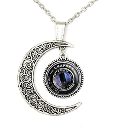 7405950bc44a4 Custom Photog Camera Lens Necklace Pendant Jewelry Lover Personalized Charm  Gift